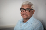 Amitav Ghosh. ( Photo - JPaing / The Irrawaddy )