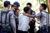 20-02-15 - Photo:- JPaing Myanmar police march during an European Union (EU) Crowd Management Training, to support the reform of the Myanmar Police Force.