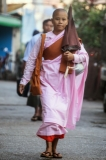 17-01-15 -Photo:- JPaing Nuns on their alms round in Rangoon