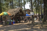 A toddy-palm sap shop in Crown Prince Toddy-Palm Forest Village. (Photo - teza hlaing/ The Irrawaddy)