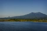 Mt Popa and pedestal hill seen from Mt Kyatmauk Dam. (Photo - teza hlaing / The Irrawaddy)