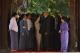 Norwegian King Harald V seen together with government officials with Maha Lawka Marazein Kuthodaw Pagoda. (Photo - teza hlaing / The Irrawaddy)