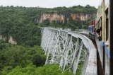 Goteik Viaduct and Mandalay-Lashio Trip. (Photo - teza hlaing / The Irrawaddy)