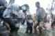 15-04-15 - PHOTO:- JPaing Scenes from the third day of Rangoon Thingyan.