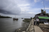 Haigyi Island houses Panmawaddy Naval Regional Command and is the base of inshore and offshore fishermen. Although the island was battered by Nargis cyclonic storm in 2008, fishing industry and other businesses have returned to normalcy there now. (Photo: J Paing/The Irrawaddy)