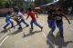 Schoolchildren play at a Panghsang school. (Photo: JPaing / The Irrawaddy)