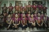 A photo of Chin villagers on display at Yo Ya May. (Photo: Tin Htet Paing / The Irrawaddy)