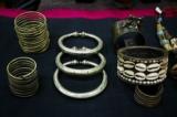Jewelry on display at Yo Ya May. (Photo: Tin Htet Paing / The Irrawaddy)