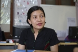 May Sabai Phyu is a Kachin activist from Burma.  She is active in promoting human rights, freedom of expression,  peace, justice for Myanmar's ethnic minorities, anti-violence in Kachin State, and lately  in combating violence against women and promoting gender equality issues. (Photo - JPaing)