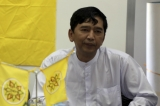 Paw Oo Tun; better known by his alias Min Ko Naing,  is the President of Universities Student Union of Burma and a leading democracy activist and dissident. (Photo - Thaw Hein Htet)