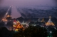 Located to the northeast of the old city's moat, Mandalay Hill is a famous viewpoint for those hoping to capture daybreak over Burma's last royal capital, January 13, 2016. (Photo: Zaw Zaw / The Irrawaddy)