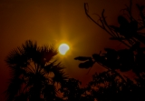 While large swathes of Indonesia experienced a total solar eclipse on Wednesday, a partial version of the astronomical phenomenon was also visible at around 7 am in Mandalay.
