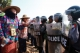 Local farmers protesting the Letpadaung copper mining project in Sagaing Division's Salingyi Township on May 6,2016. (Photo: Myo Min Soe / The Irrawaddy)