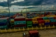Shipping containers at Asia World Port in Rangoon on Sept 16, 2016. Photo - Pyay Kyaw / The irrawaddy