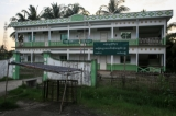 An abandoned school in Maungdaw, located in Rakhine State on Oct 16,2016.