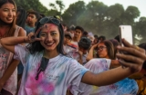Myanmar Color Festival 2016 in Rangoon's People Square, November 5.