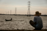National power grid in Dagon Seikkan Township photographed in 2015. Hein Htet/ The Irrawaddy