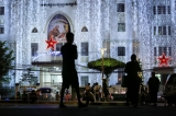 Emmanuel Baptist church as people visit for a Christmas ceremony on December 24, 2016. Hein Htet/ The Irrawaddy