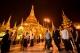 British Foreign Secretary Boris Johnson, who is now in Burma on an official trip, visited Rangoon's Shwedagon Pagoda on Jan 21 ,2017.  (Photos: Pyay Kyaw / The Irrawaddy)