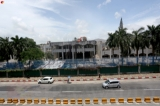 The former Defense Services Museum in Yangon is now being demolished to clear the site for a development project. (Photos: Thet Tun Naing/ The Irrawaddy)