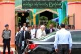 Indian Prime Minister Narendra Modi visited the Zafar Shah Dargah