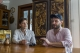Sawbwa coffee founders, Jason Brown and Sam Foot, explain to The Irrawaddy Reporter about their business at Sawbwa coffee headquarter on January 24, 2019. Sawbwa is a startup coffee company focusing on sourcing and selling the highest quality of coffee. Sawbwa coffee was launched its business by two british men at early 2017.  Photo - Htet Wai/ Irrawaddy