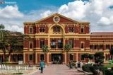 Secretariat under renovation in January, 2019.  Photo - Yangon Heritage Trust