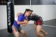 MMA fighter Antonia is seen at her training on April 4, 2018.  Photo - Htet Wai/ Irrawaddy