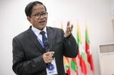 Nai Hong Sar, head of the Nationwide Ceasefire Coordination Team (NCCT). Photo - JPaing / The Irrawaddy )