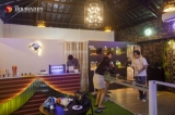 Lizzo and Mammo, a new exotic pets cafe located in Kantawgyi Gardens, Yangon (Photos: Aung Kyaw Htet / The Irrawaddy)