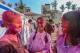 The Hindu traditional Holi festival