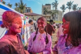 The Hindu traditional Holi festival was held for the first time in Mandalay on March 21. Zaw Zaw/The Irrawaddy