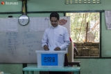 Yangon municipal election was held at Yangon on March 31, 2019.  Candidates for the National League for Democracy (NLD) dominated Sunday's Yangon municipal election, winning 89 of the 105 seats up for grabs.  Photo - Htet Wai/ Irrawaddy