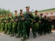The National Democratic Alliance Army,NDAA, soilders were seen at their headquarter from Mong La, Shan State on April 21, 2019.  Photo - Nang Lwin Hnin Pwint/ Irrawaddy