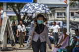 People wear protective mask to prevent theirself from covid-19 virus during coronavirus rumours spread around Myanmar on March 17, 2020.  Photo - Htet Wai/ Irrawaddy